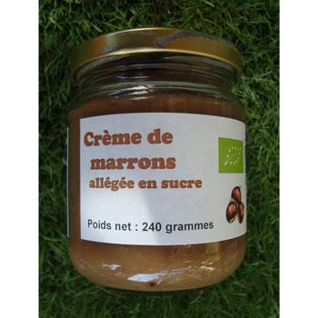Crème de marron Bio 240g