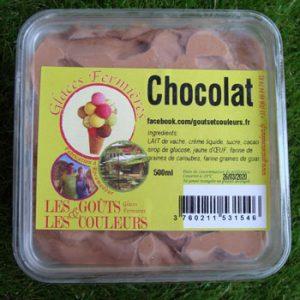 Crème glacée Chocolat 500ml
