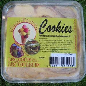 Crème glacée Cookies 500ml