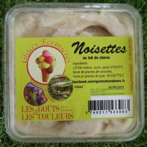 Crème glacée Noisettes 500ml