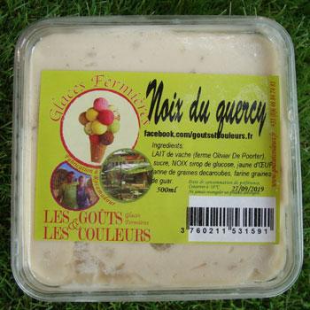 Crème glacée noix du Quercy 500ml