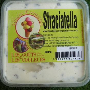 Crème glacée Straciatella