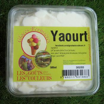 Crème glacée yaourt 500ml