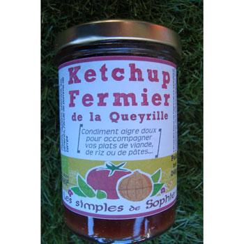 Ketchup fermier BIO