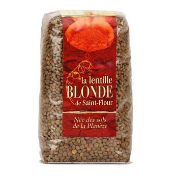 Lentilles blondes St Flour 500g