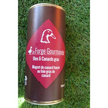 Magret de canard fourré au foie gras 500g