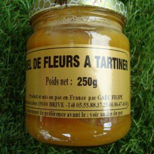 Miel des fleurs à tartiner 250g