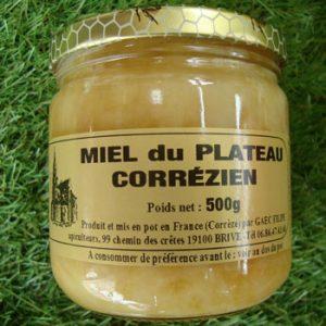 Miel du plateau Corrézien 500g