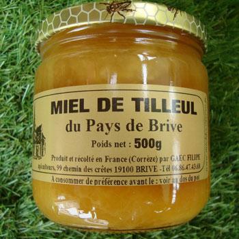 Miel de Tilleul 500g