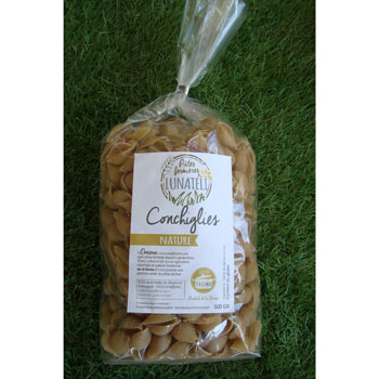 Pâtes Conchiglies nature 500g