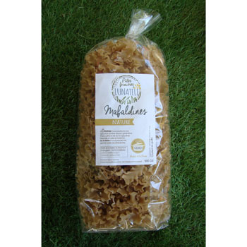 Pâtes Malfadines Nature 500g
