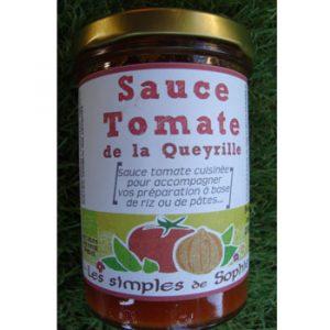 Sauce tomate de la Queyrille BIO