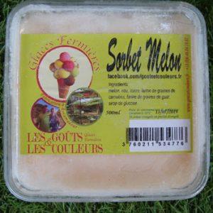 Sorbet melon 500ml