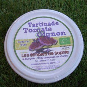Tartinade tomate oignon BIO