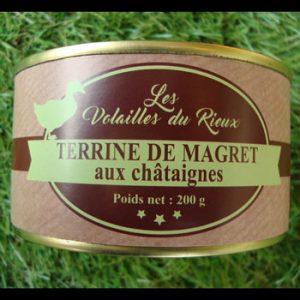 Terrine de Magret aux châtaignes