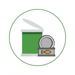 Conserves, plats cuisinés